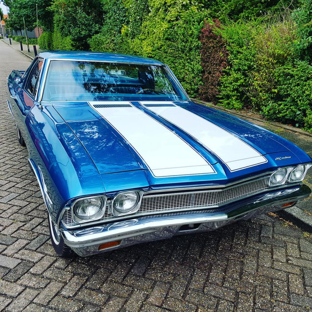 1968 Chevrolet El Camino 4 Speed Chevy 4x4 For Sale