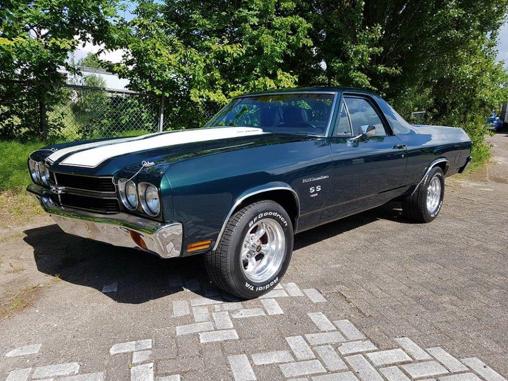 Rent Corvette Stingray >> 1970 Chevrolet El Camino SS