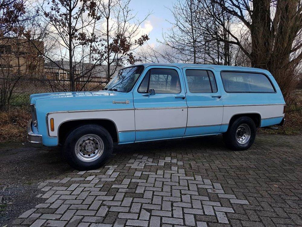 1973 Chevrolet Suburban Cheyenne